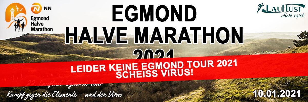 Egmond halve Marathon 2021 - Abgesagt
