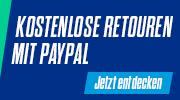 kostenlose Retoure mit PayPal