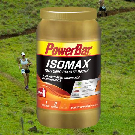 Power Bar ISOMAX Dose mit 1200g