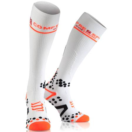 Compressport Full Sock V2.1 white.