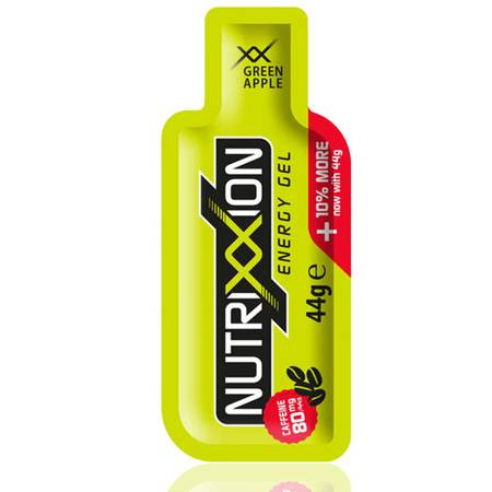 Nutrixxion XX Force Green Apple Energy Gel 24 x 44g [80mg Koffein].