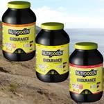 Nutrixxion Energie Drink Endurance 2,2kg. Verschiedene Geschmacksrichtungen. – Vorschaubild 1
