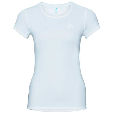 Odlo SUW Top Crew Neck Shirt Active F-Dry Light Lady White | 140901-10000