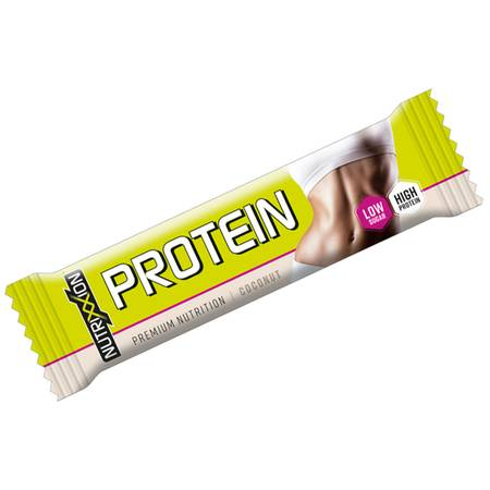 "Nutrixxion Protein ""LOW SUGAR"" 15 Riegel a 35g. Coconut."