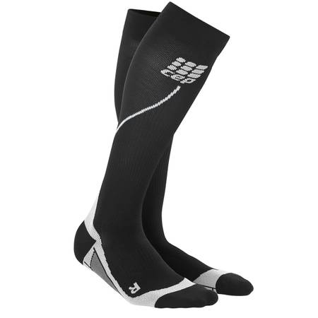 CEP Progressive+ Running socks 2.0 Lady schwarz/grau | WP45V3