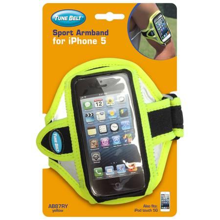Tune Belt Sport Arm Band für iPhone 5 & iPod Touch 5G (Neon)